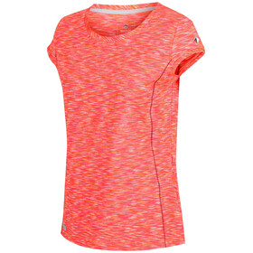 Regatta Hyperdimension Camiseta Manga Corta Mujer, shock orange